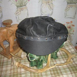 NEW LEATHER HAT